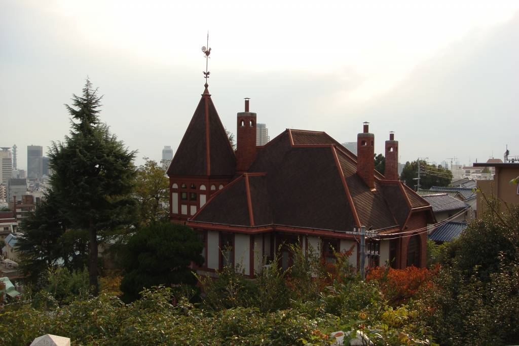 weathercock house kobe kitano