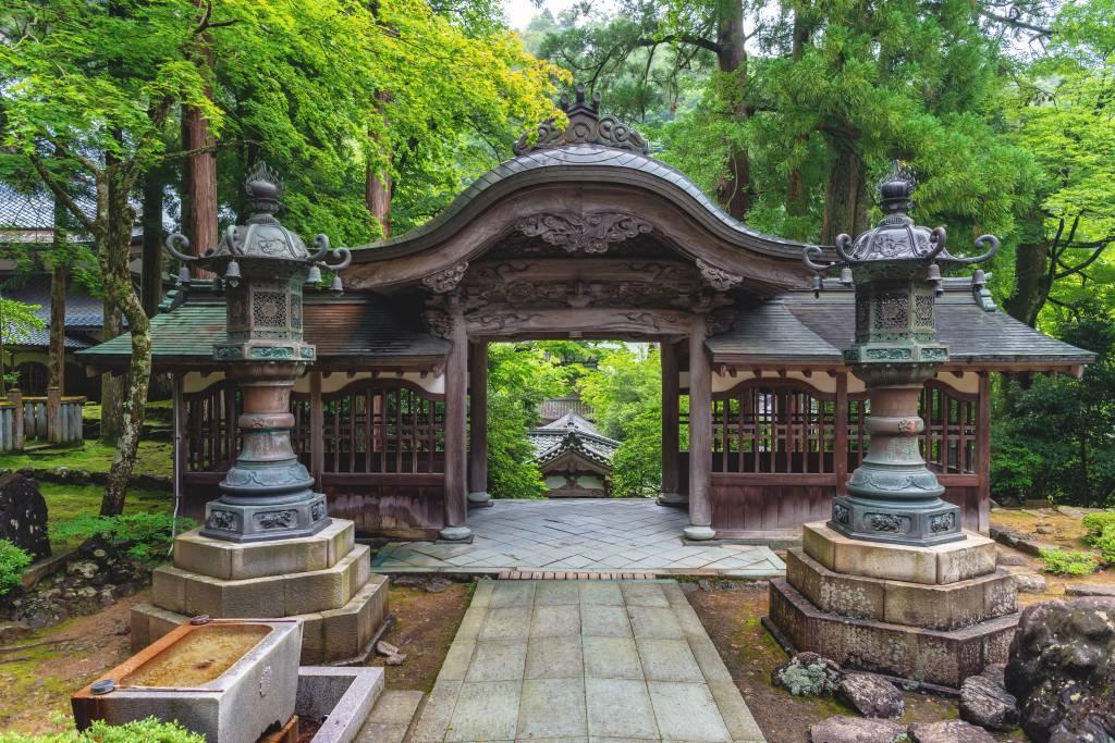 Jouyoumon gate of the Eiheiji temple