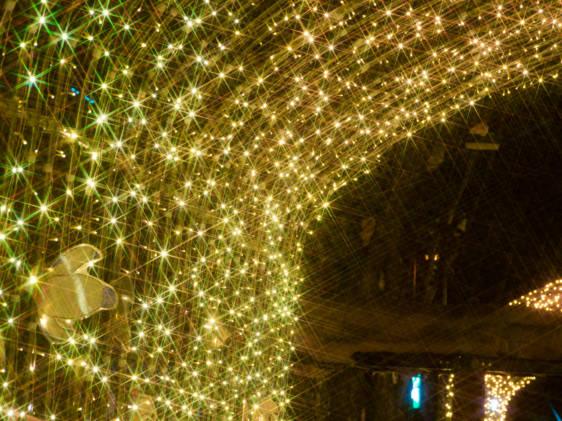Winter city illumination
