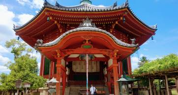 Kofukuji Octagonal Hall Nara