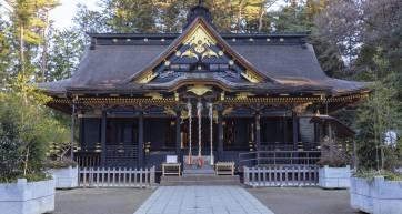 hachimangu shrine city of sendai miyagi japan