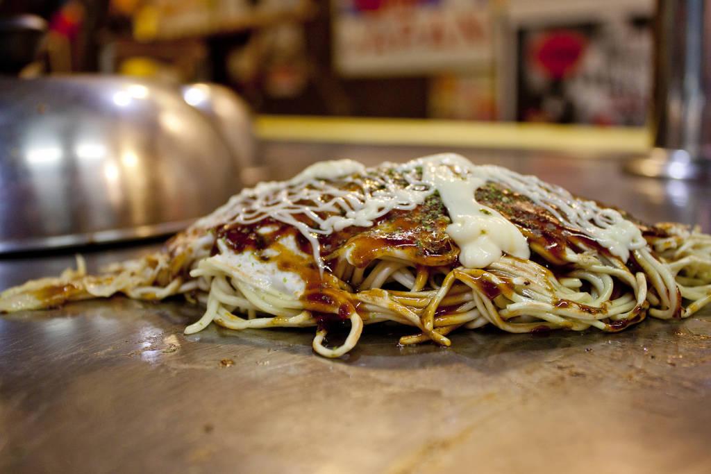 Closer Look at a Delish Okonomiyaki
