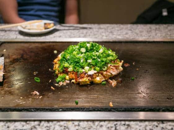 Okonomiyaki Grill
