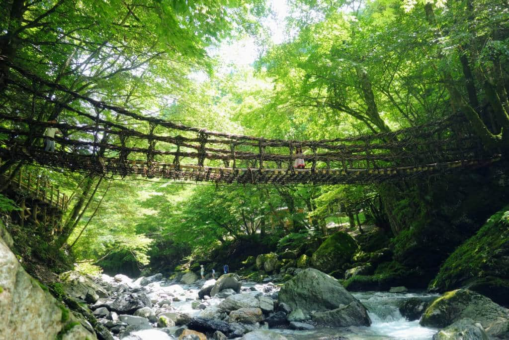 Iya Valley Vine Bridge