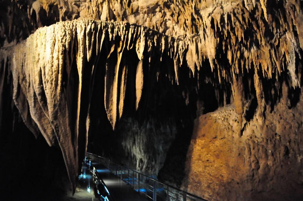 stalactite in Gyokusendo Cave, Okinawa