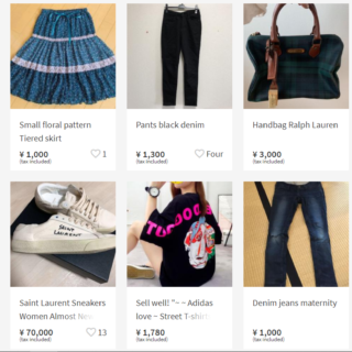 Online Shopping for Pre-loved Fashion in Japan