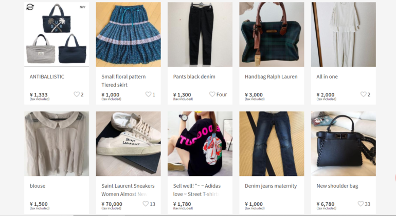 online secondhand shopping