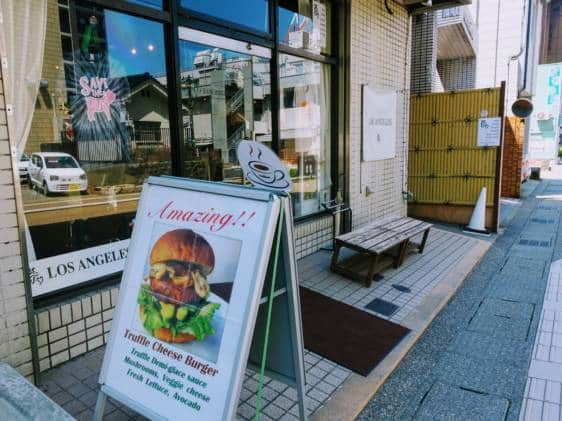 Los Angeles Vegan Food Kanazawa Outside