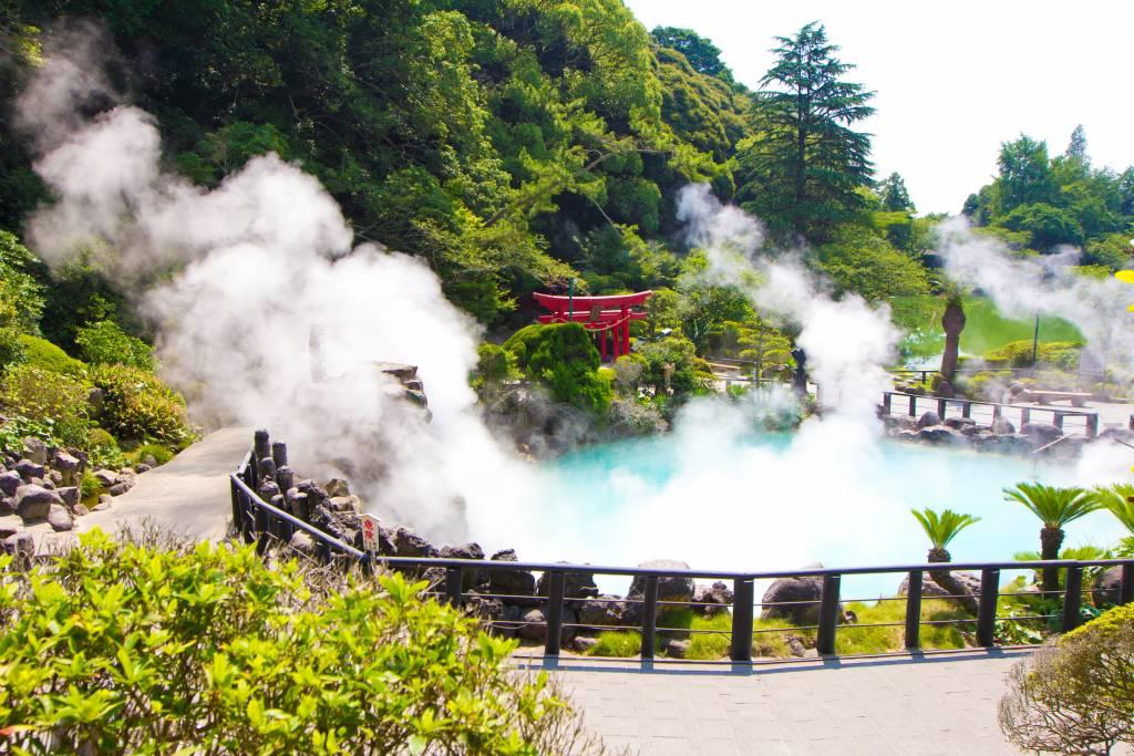 beppu onsen summer