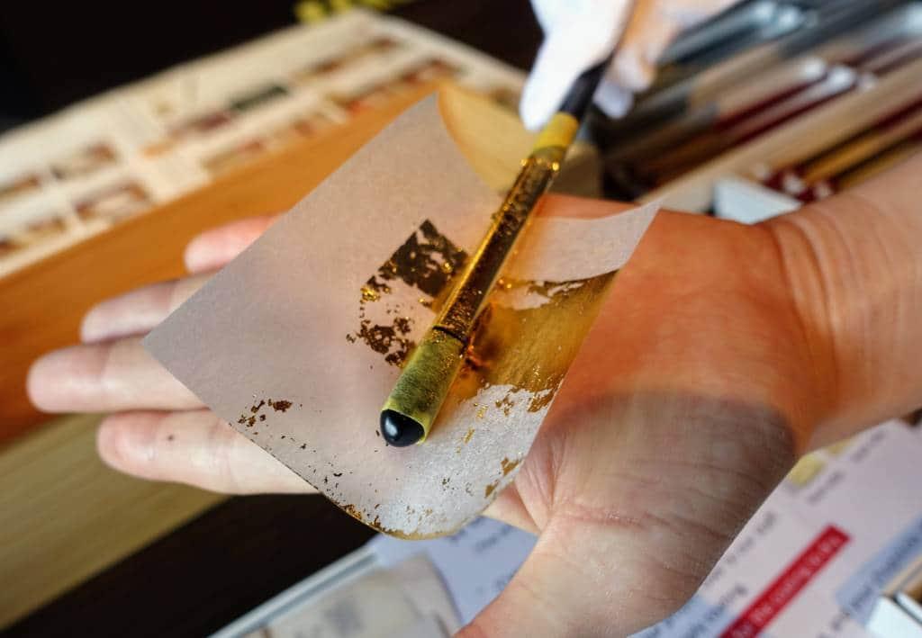 Kanazawa Hakuichi Gold Leaf Chopsticks
