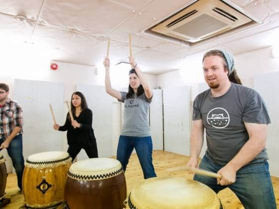 taiko drum workshop osaka japan tiqets