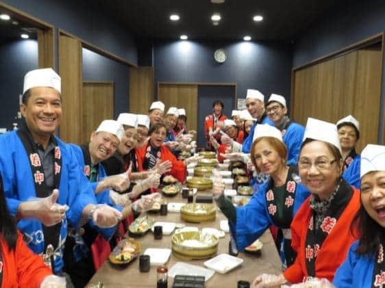umemori tiqets sushi school osaka japan