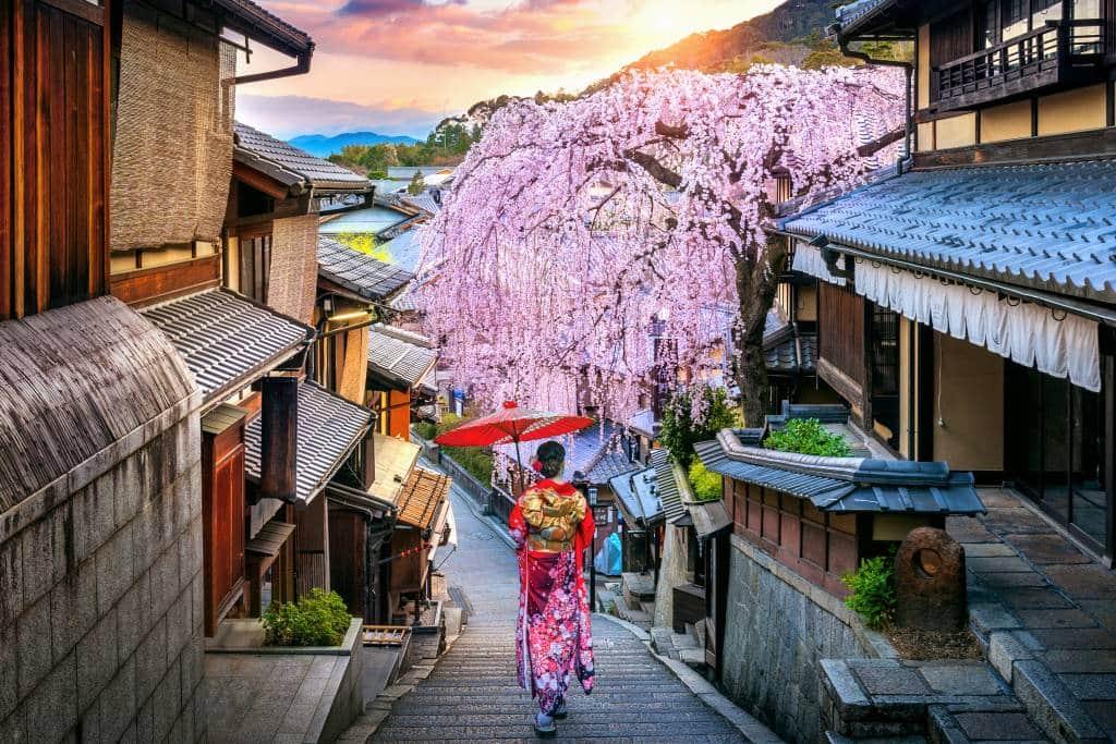 Kyoto, kansai region