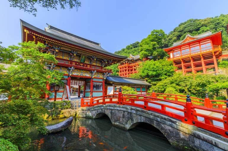 Yutoku Inari Shrine in Kashima city, Saga